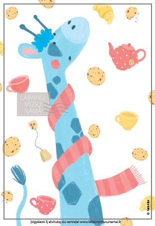 Tegul lyja arbata ir sausainiais